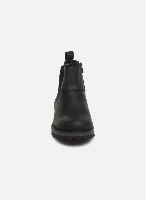 Bottines et boots Timberland Courma Kid Chelsea Noir vue portées chaussures
