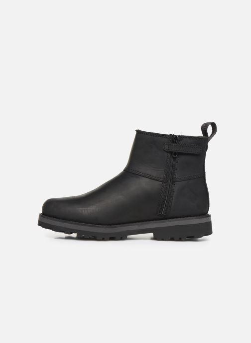 Boots en enkellaarsjes Timberland Courma Kid Chelsea Zwart voorkant