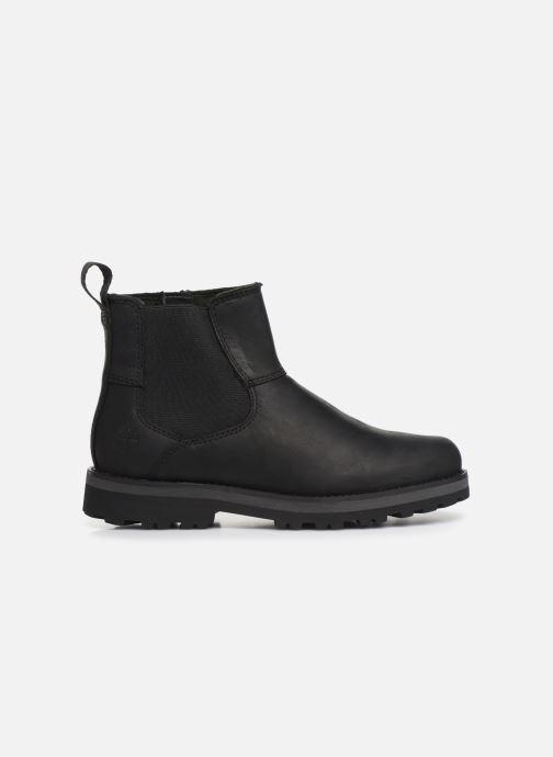 Boots en enkellaarsjes Timberland Courma Kid Chelsea Zwart achterkant