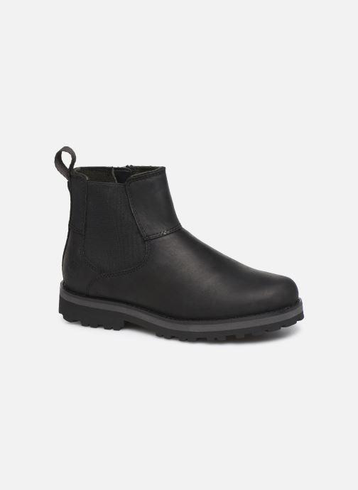 Boots en enkellaarsjes Timberland Courma Kid Chelsea Zwart detail