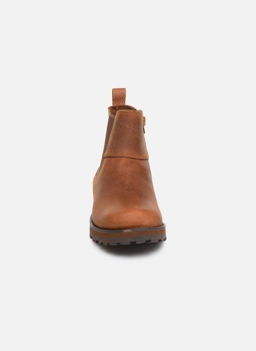 Bottines et boots Timberland Courma Kid Chelsea Marron vue portées chaussures