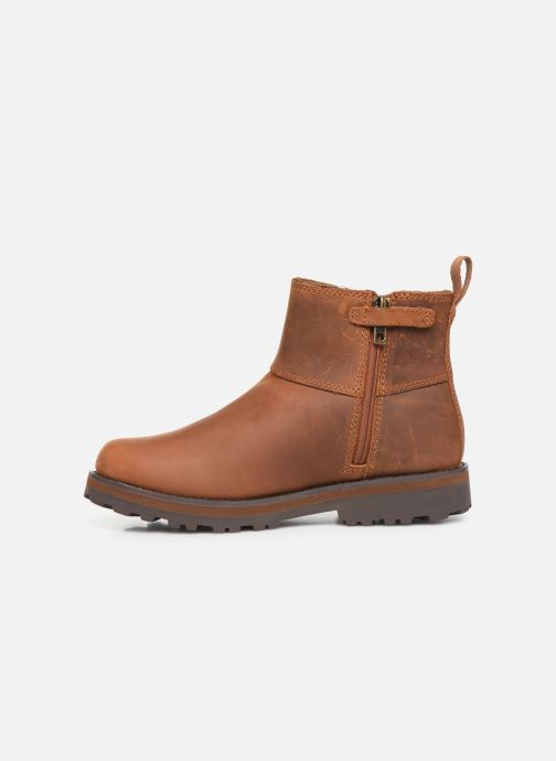 Ankle boots Timberland Courma Kid Chelsea Brown front view