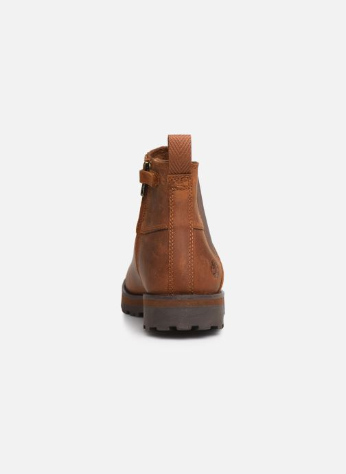 Ankle boots Timberland Courma Kid Chelsea Brown view from the right