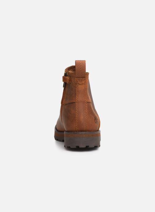 Bottines et boots Timberland Courma Kid Chelsea Marron vue droite