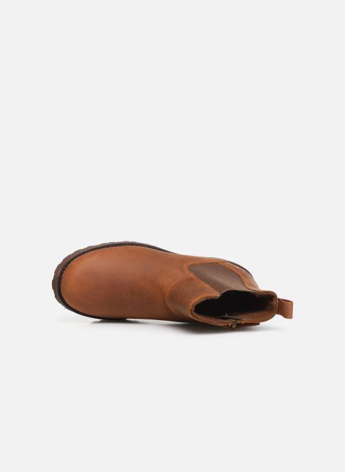 Boots en enkellaarsjes Timberland Courma Kid Chelsea Bruin links