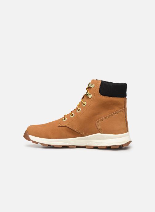 Boots en enkellaarsjes Timberland Brooklyn Sneaker Boot Bruin voorkant
