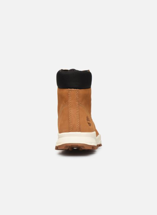 Bottines et boots Timberland Brooklyn Sneaker Boot Marron vue droite