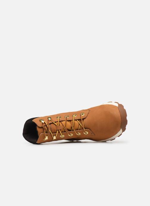 Boots en enkellaarsjes Timberland Brooklyn Sneaker Boot Bruin links