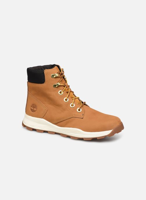 Bottines et boots Timberland Brooklyn Sneaker Boot Marron vue détail/paire