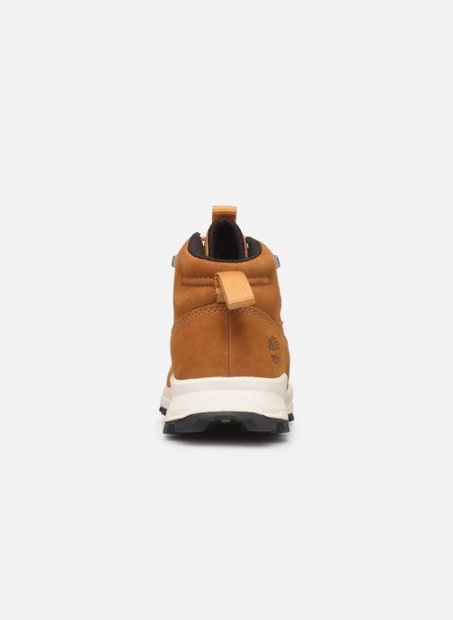 Boots en enkellaarsjes Timberland Brooklyn Alpine Chukka Bruin rechts