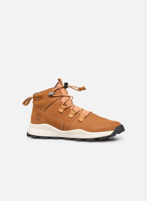 Boots en enkellaarsjes Timberland Brooklyn Alpine Chukka Bruin achterkant