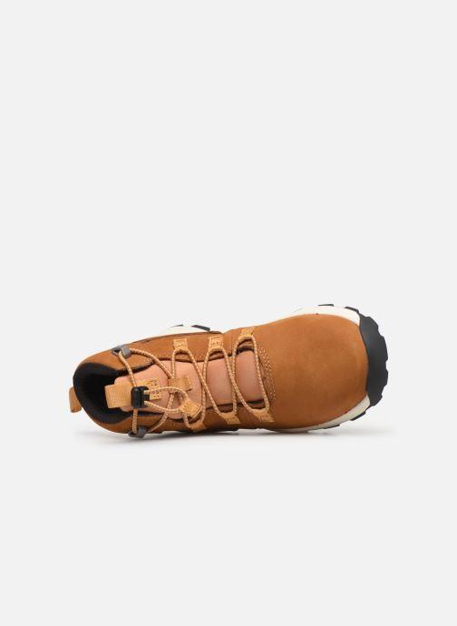 Bottines et boots Timberland Brooklyn Alpine Chukka Marron vue gauche