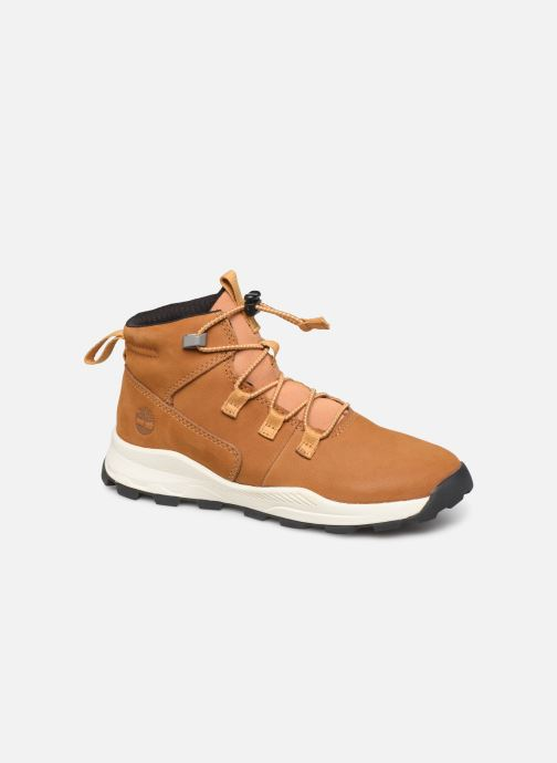 Bottines et boots Timberland Brooklyn Alpine Chukka Marron vue détail/paire