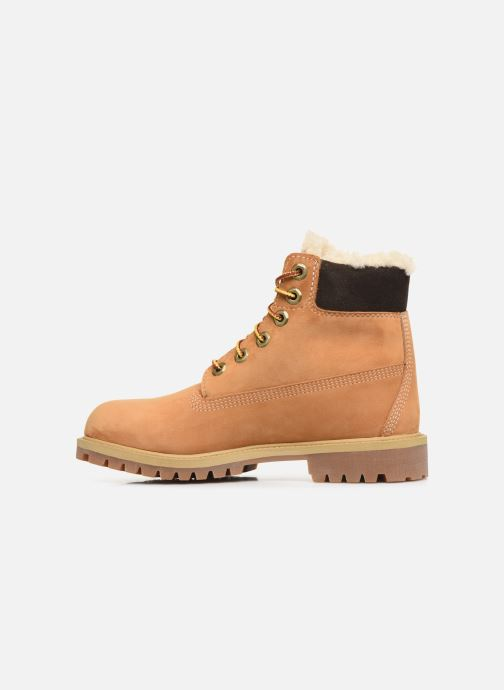 Bottines et boots Timberland Premium 6e Waterproof Shearling Boot Marron vue face