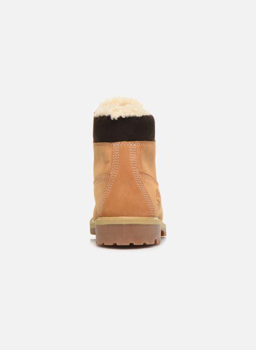 Stivaletti e tronchetti Timberland Premium 6e Waterproof Shearling Boot Marrone immagine destra