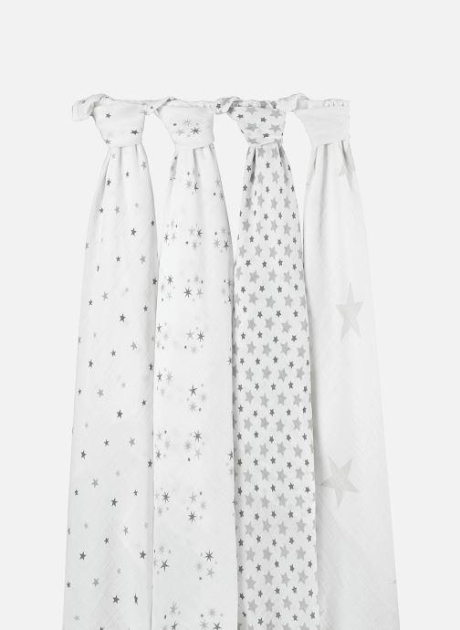 Vêtements aden + anais Maxi-langes 120x120 - pack de 4 Blanc vue face