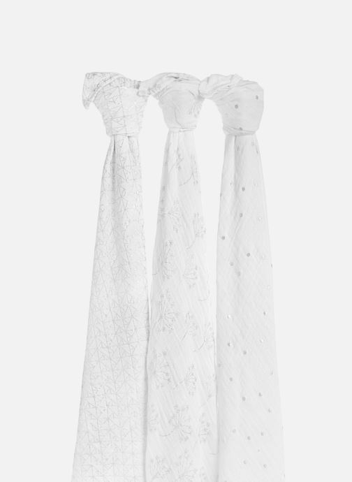 aden + anais Coffret - Maxi-langes métalliques 120x120 (Blanc) - Vêtements chez Sarenza (390188) KJujk