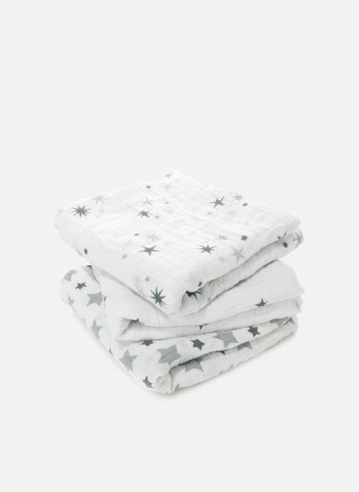 Vêtements aden + anais Musy-langes 70x70 - pack de 3 Blanc vue portées chaussures