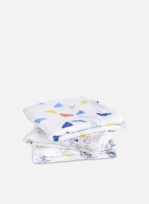 Divers aden + anais Musy-langes 70x70 - pack de 3 Multicolore vue portées chaussures