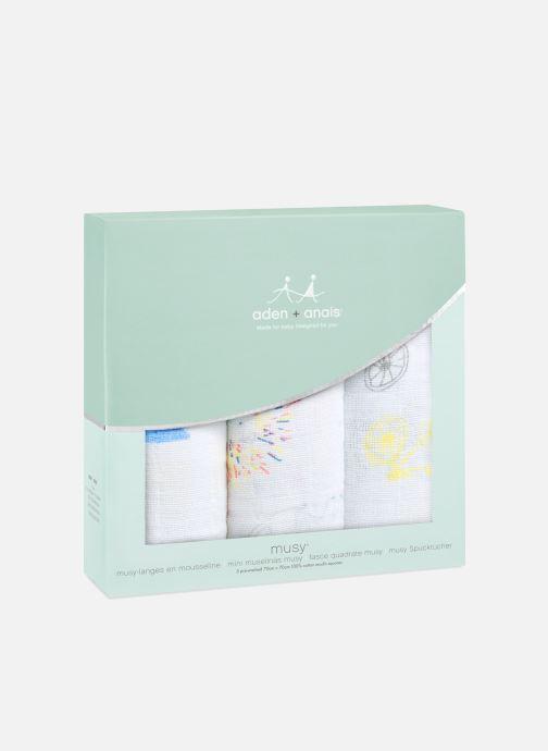 Kleding aden + anais Musy-langes 70x70 - pack de 3 Multicolor detail