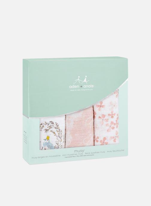 Divers aden + anais Musy-langes 70x70 - pack de 3 Rose vue détail/paire