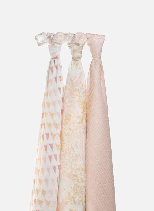 Vêtements aden + anais Maxi-langes silky soft 120x120 - pack de 3 Rose vue face