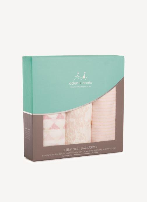 Kleding aden + anais Maxi-langes silky soft 120x120 - pack de 3 Roze detail