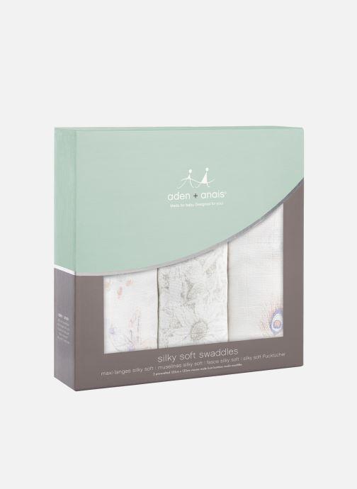 Vêtements aden + anais Maxi-langes silky soft 120x120 - pack de 3 Multicolore vue détail/paire