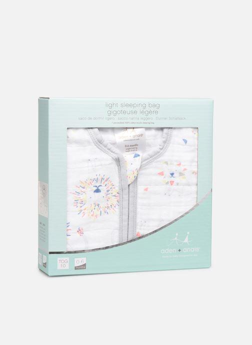 Vêtements aden + anais Gigoteuse légère 1.0 TOG Blanc vue détail/paire