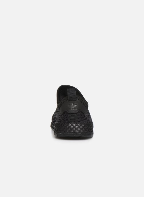 Trainers adidas originals Deerupt Runner I Black view from the right
