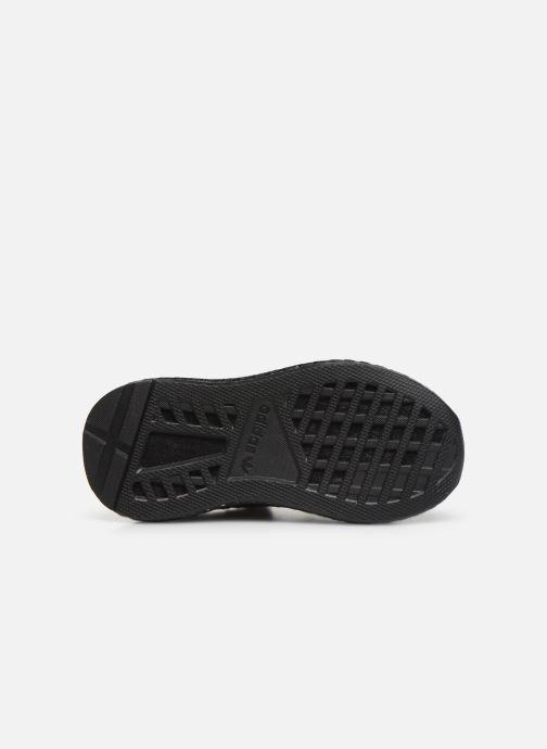 Trainers adidas originals Deerupt Runner I Black view from above