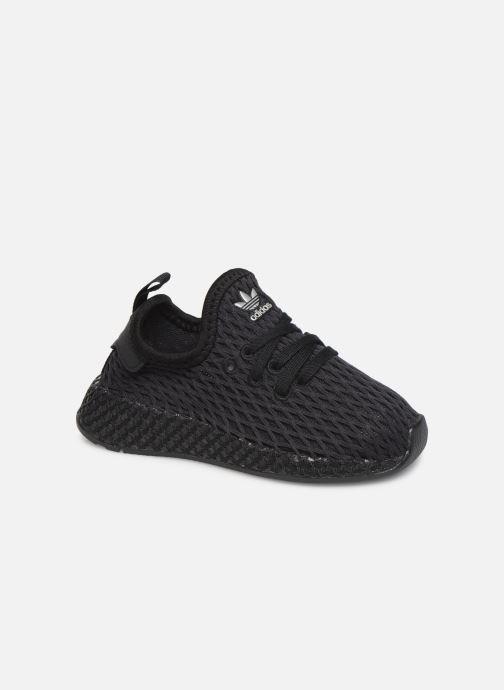 Trainers adidas originals Deerupt Runner I Black detailed view/ Pair view