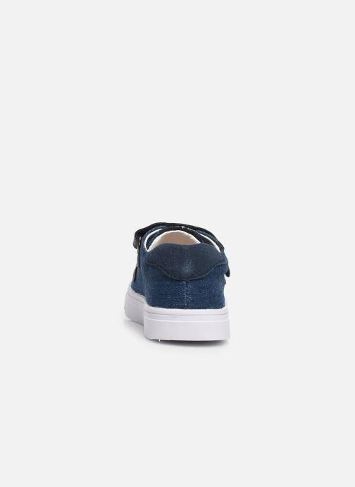 Baskets Shoesme Santiago2 Bleu vue droite