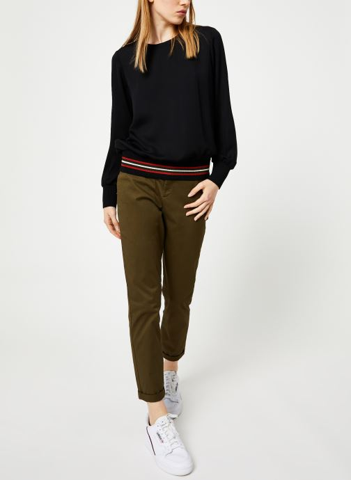 Vêtements Maison Scotch Regular fit chino Marron vue bas / vue portée sac