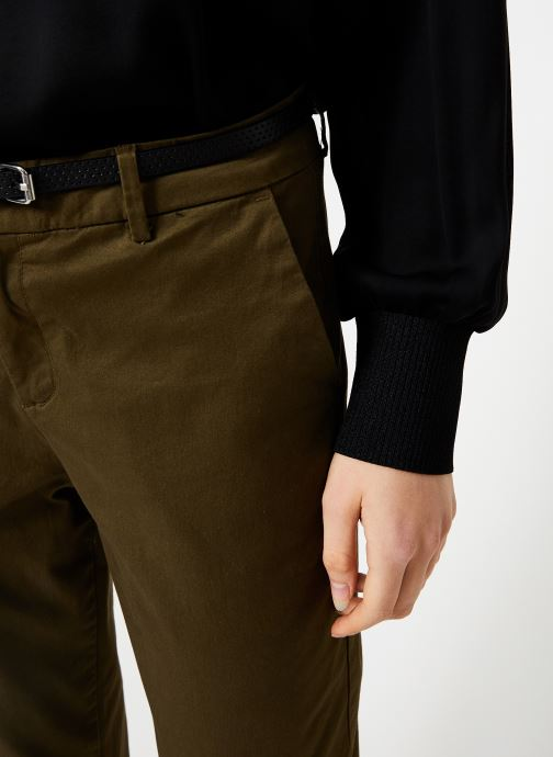 Vêtements Maison Scotch Regular fit chino Marron vue face