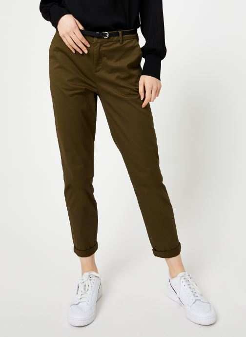 Vêtements Maison Scotch Regular fit chino Marron vue détail/paire