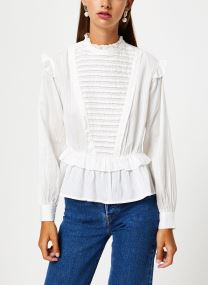 Top with ruffles and ladder details