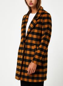 Bonded wool jacket in checks