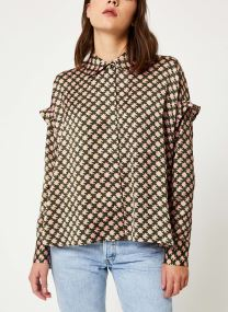 Boxy fit printed shirt