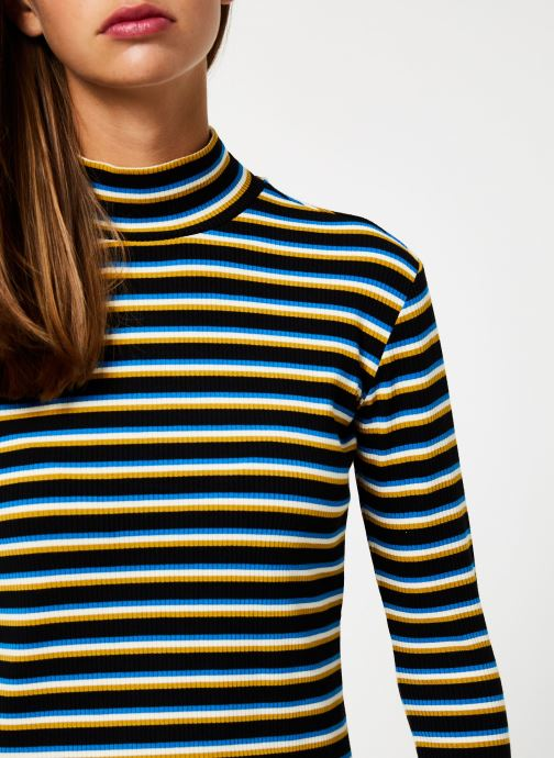 Vêtements Maison Scotch Striped turtle neck Multicolore vue face