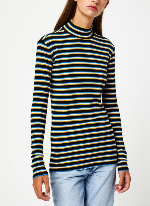 Vêtements Maison Scotch Striped turtle neck Multicolore vue droite