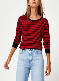 Striped pull with lurex