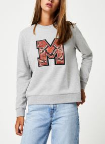Sweatshirt - Crewneck sweat with badge