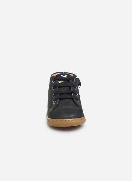 Stiefeletten & Boots Shoo Pom Bouba Zip Lace blau schuhe getragen