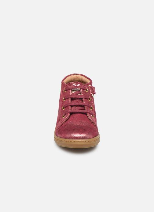 Stiefeletten & Boots Shoo Pom Bouba Zip Lace rosa schuhe getragen