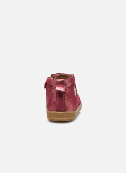 Stiefeletten & Boots Shoo Pom Bouba Zip Lace rosa ansicht von rechts