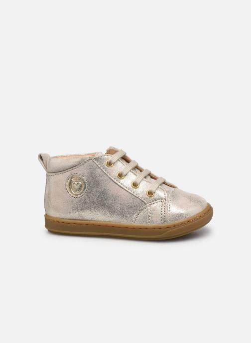Bottines et boots Shoo Pom Bouba Zip Lace Blanc vue derrière