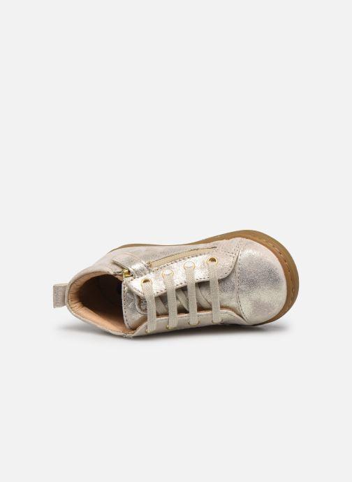 Bottines et boots Shoo Pom Bouba Zip Lace Blanc vue gauche