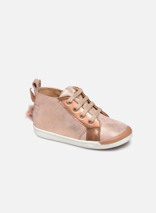 Bottines et boots Shoo Pom Kikki Pan-pan Rose vue détail/paire