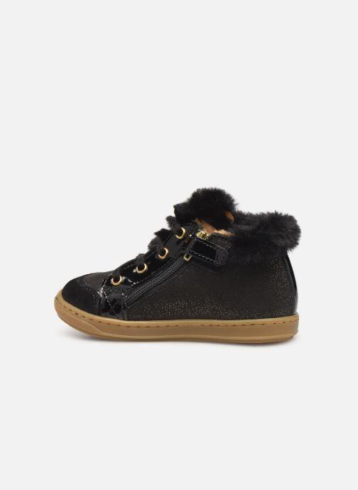 Boots en enkellaarsjes Shoo Pom Bouba Hair Zwart voorkant